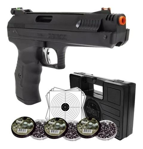 Pistola Pressão Beeman 2004 4.5m Maleta + Chumbinhos + Alvos
