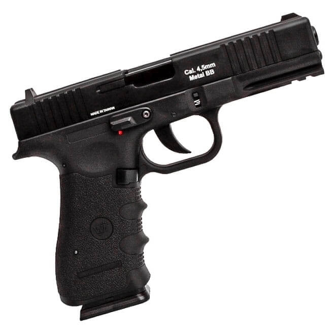 Pistola Pressão Co2 WG W119 Metal Blowback 4,5mm Mostruário