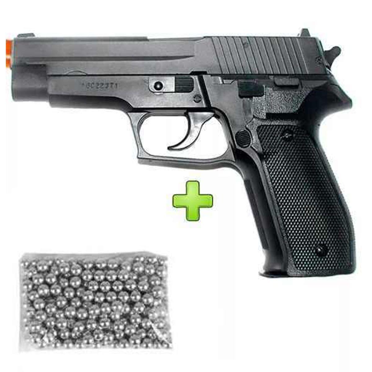 Pistola Pressão Sig Sauer P226 4,5 Metal Mostruário+ Esferas