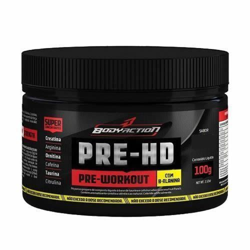 Pre - HD - 100g Morango com Kiwi - BodyAction