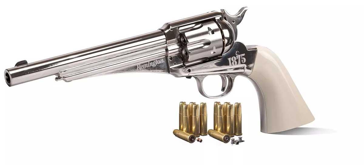 Revolver De Pressão Co2 Crosman Remington 1875 - Full Metal
