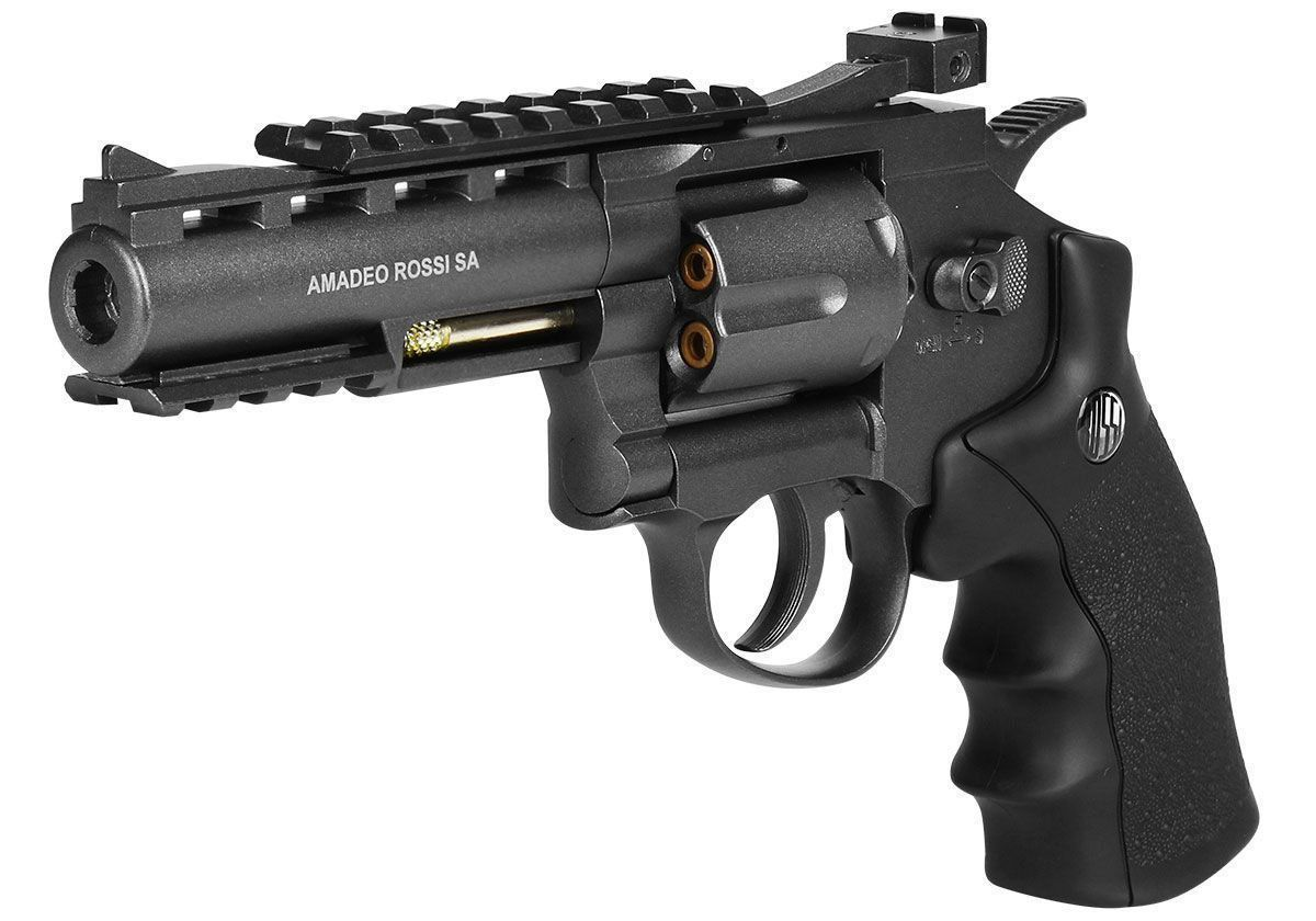 Revólver Pressão Co2 Rossi M701 Full Metal - 4.5mm