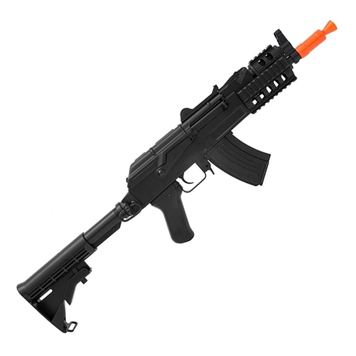 Rifle Airsoft Ak 47 Beta Spetsnaz Cqb Cm521c - 6mm - Cyma