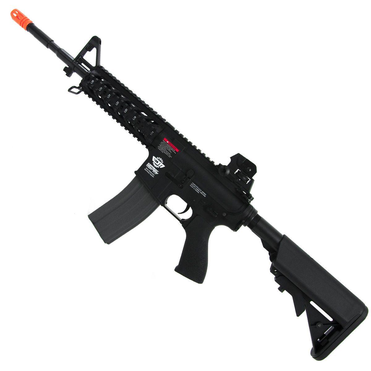 Rifle Airsoft Elétrico Aeg G&g Cm16 Raider-L