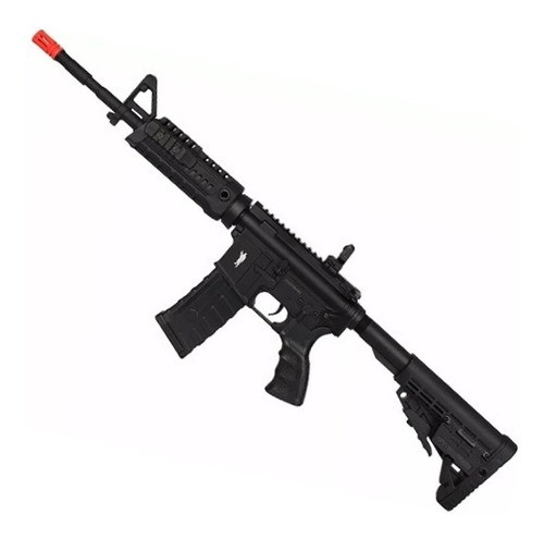 Rifle Airsoft Elétrico King Arms M4a1 Caa Custom - Mostruário