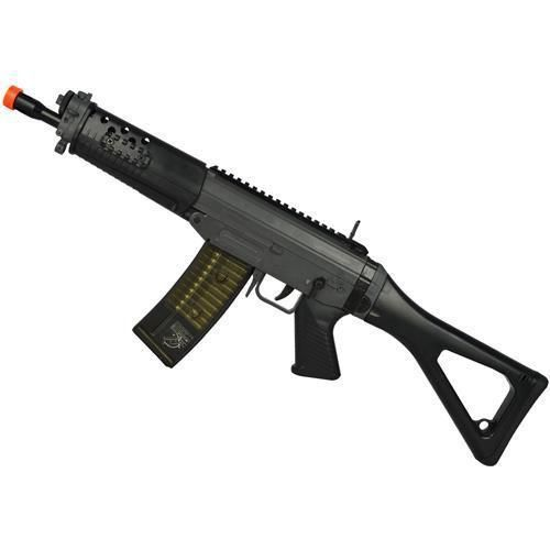 Rifle Airsoft Spring Swiss Arms CyberGun SIG SAUER 552 Comando