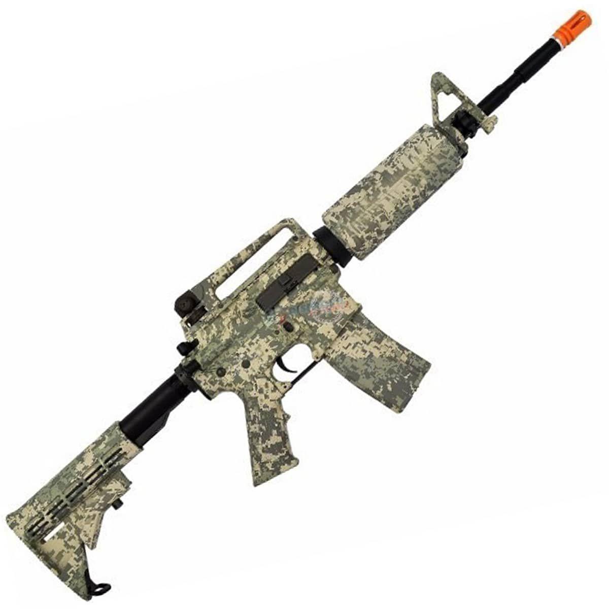 Rifle De Airsoft Elétrico King Arms M4 Navy Seals Desert
