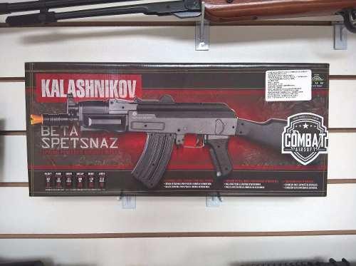 Rifle de Airsoft Spring  Ak47 Spetsnaz Cal. 6mm Cybergun
