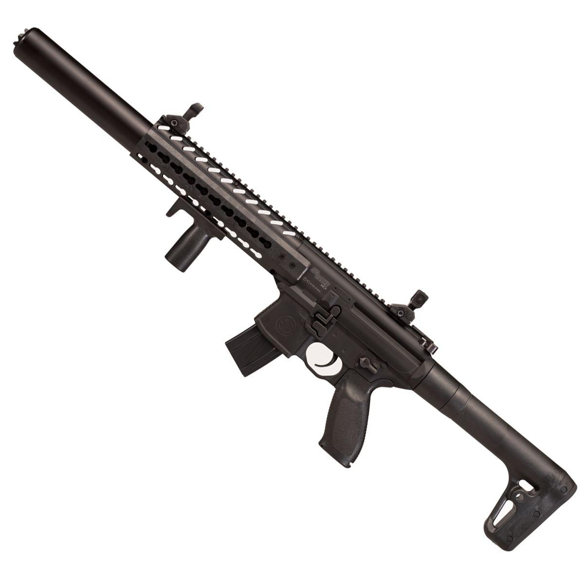 Rifle De Pressão Co2 Sig Sauer Mcx Asp Cal.4,5mm Fullmetal