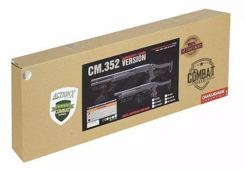 Shotgun De Airsoft Cyma Cm352 M870 Fs