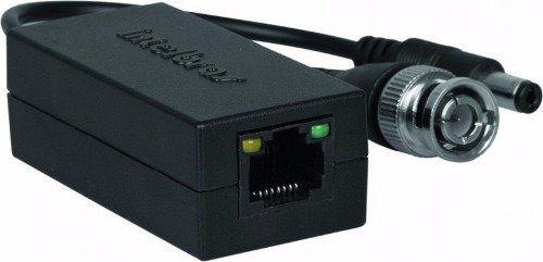 Video Power Balun Intelbras Xbp 502A Passivo 300 Metros Com Alimentação