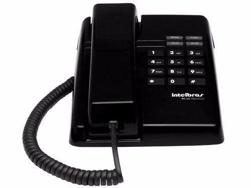 Telefone Intelbras Tc 50 Premium Icon Preto