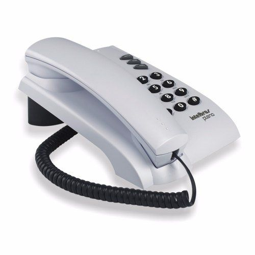Telefone Intelbras Pleno Cinza S/ Chave