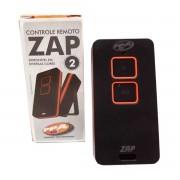 Controle Remoto PPA Zap 2 Botões 433MHz Rolling Code