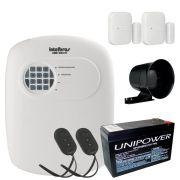Kit de Alarme Intelbras Anm 3004 ST + 02 Sensores Sem Fio Intelbras XAS 4010 + Acessórios