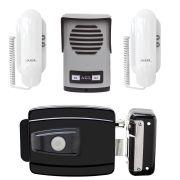 Kit Interfone 2 Pontos AGL + Fechadura Elétrica AGL 12v Com Botão