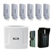Kit Interfone Comunic 16 Intelbras + 6 Pontos + Porteiro Intelbras Completo