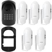 Porteiro Interfone Coletivo S300 Agl 12 Pontos + 5 Interfones + Protetor
