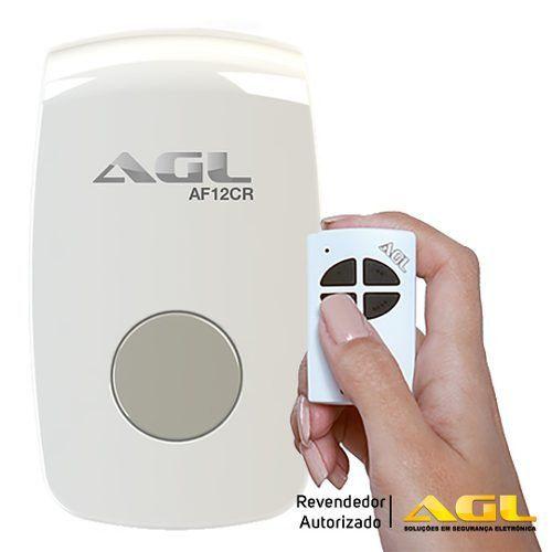 Acionador Agl AF 12CR de Fechadura Elétrica Por Controle Remoto