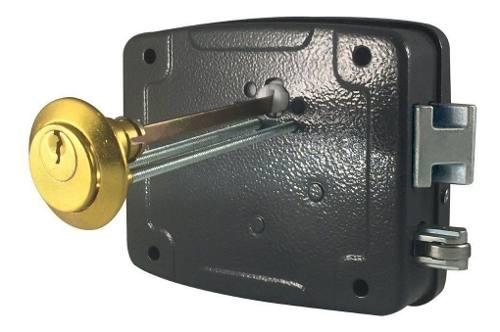 Fechadura Eletríca Agl 12v Reversível Cilindro Ajustável Al100