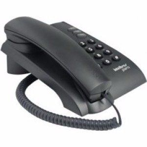 Telefone Intelbras Pleno Preto S/ Chave
