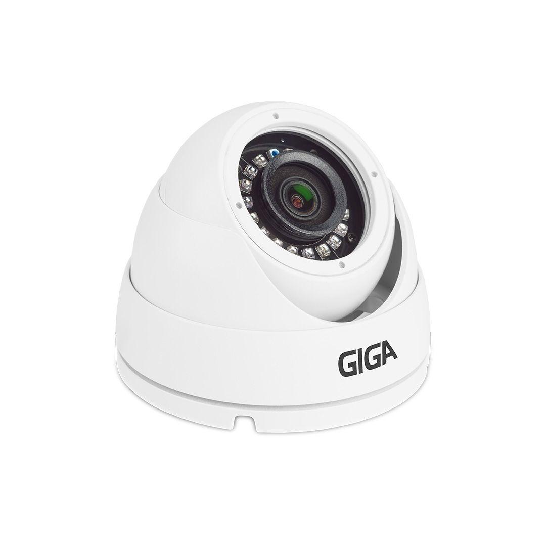 Câmera de Segurança Giga GS0019 Dome Hd Orion 720p Infravermelho 20M 1/4 2.6MM