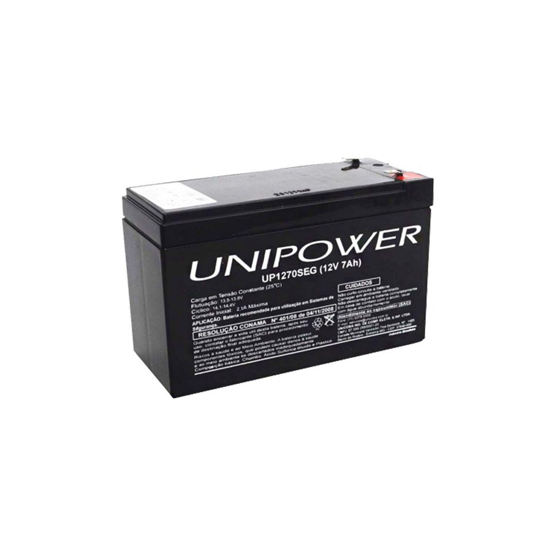 Central Cerca Elétrica High Power Elc 5002 + Bateria 12v/7a