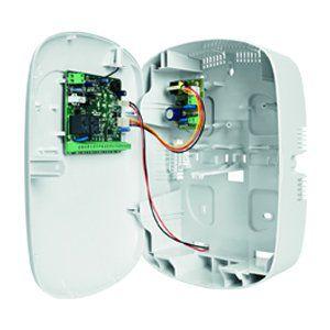 Central Alarme Intelbras Anm 3008 St 8 Zonas não Monitorada, Controle Remoto, Discadora