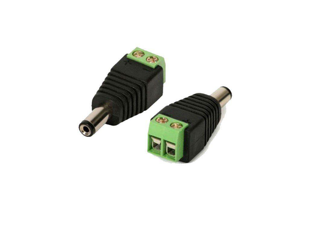 Conector P4 Macho P/ Cftv