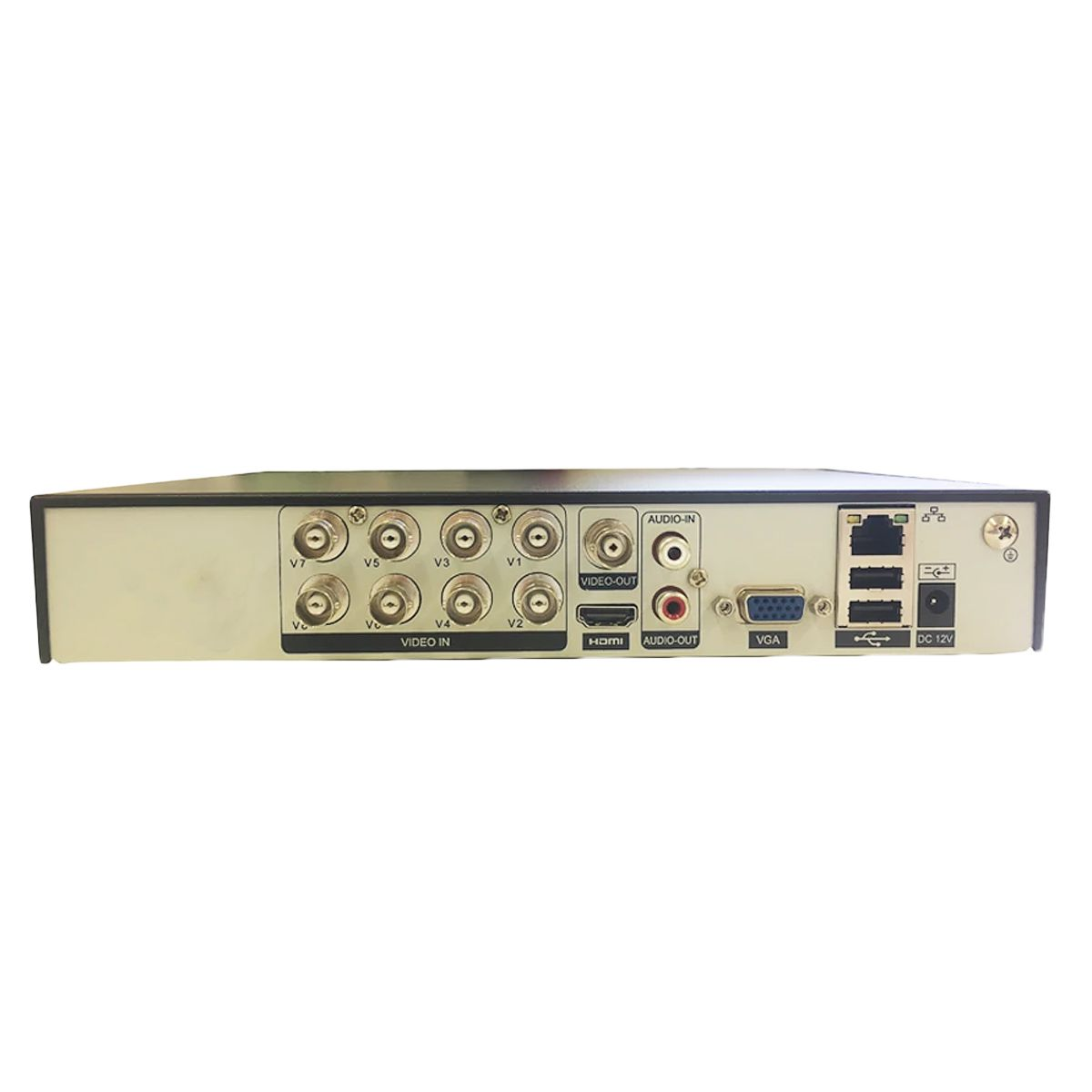 Dvr Giga Security GS0191 08 Canais 5 Mega Pixels Serie Orion Open HD