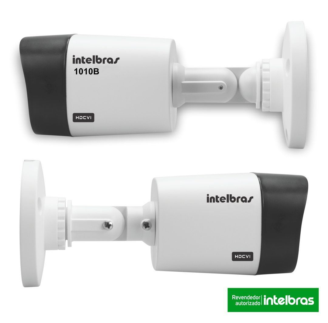 10 Câmeras Intelbras Infravermelho 720p VHD 1010B Lente 3,6mm 10M