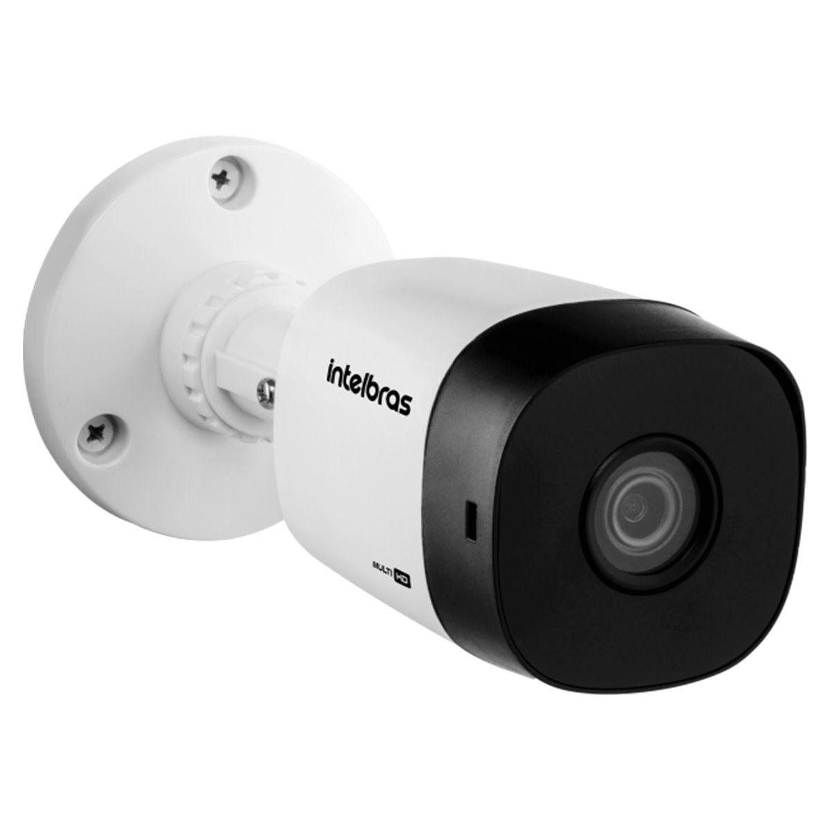 Kit 4 Câmeras de Segurança Intelbras Hdcvi Vhd 1120B G5 Lente 3.6mm 20 M