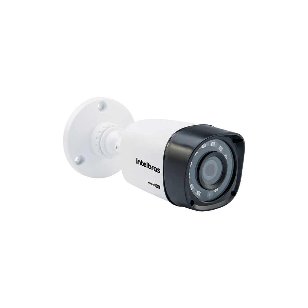 Kit CFTV 12 Câmeras de Segurança Intelbras 720P VHL 1120B + DVR Intelbras MHDX 1116 + HD 1 Tera Western Digital Purple + Acessórios