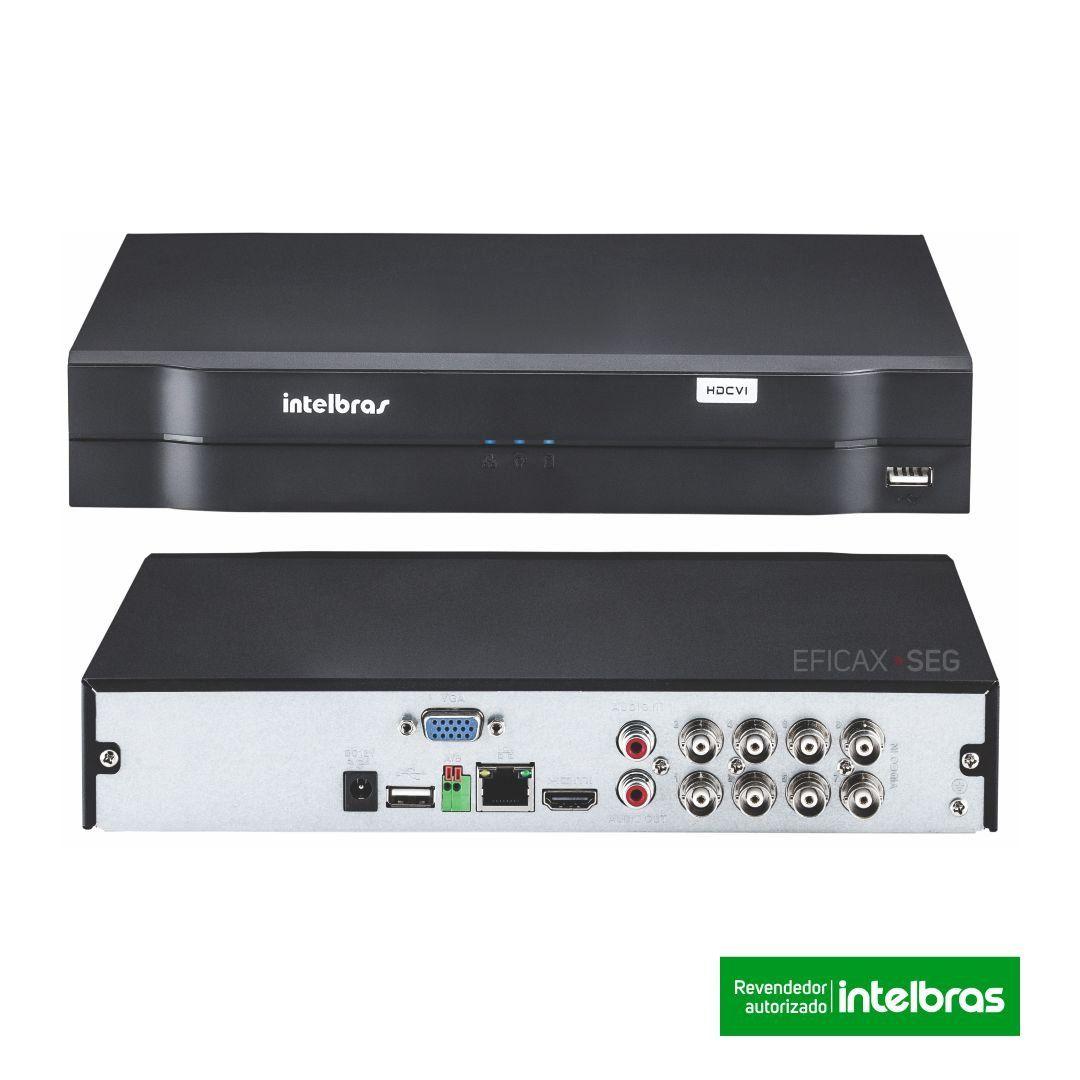 Kit CFTV 8 Câmeras Segurança Intelbras 720P VHD 3130B ...