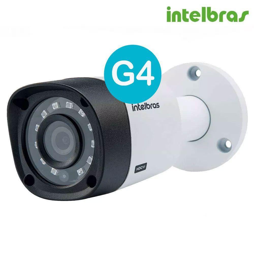 Kit CFTV 8 Câmeras Segurança Intelbras 720P VHD 1010B + Dvr Intelbras MHDX 1108 + HD 1 Tera Seagate BARRACUDA + Acessórios