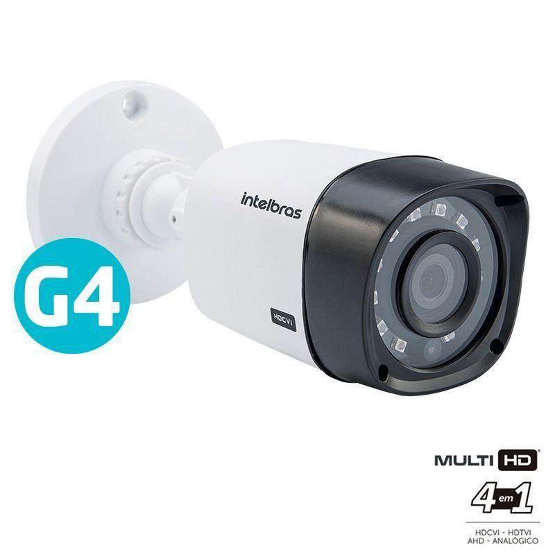 Kit CFTV 8 Câmeras Segurança Intelbras 720P VHD 3130B + Dvr Intelbras MHDX 1108  + HD 1 Tera Seagate SKYHAWK + Acessórios