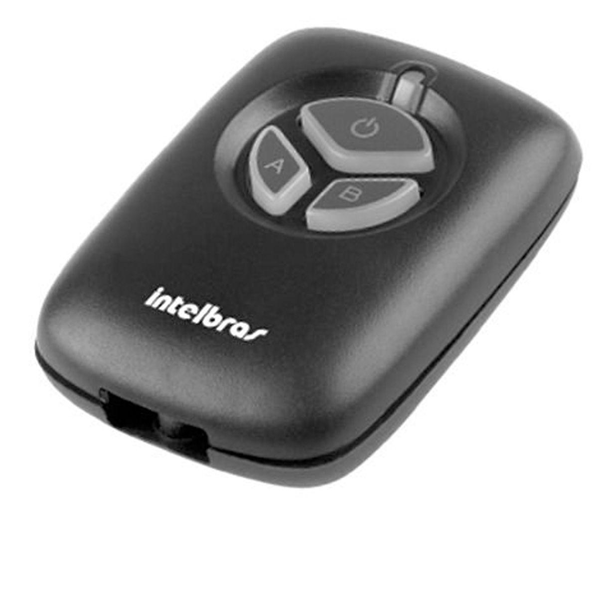 Kit de Controle Intelbras Com 02 Controle Remoto Intelbras XAC 2000TX Preto