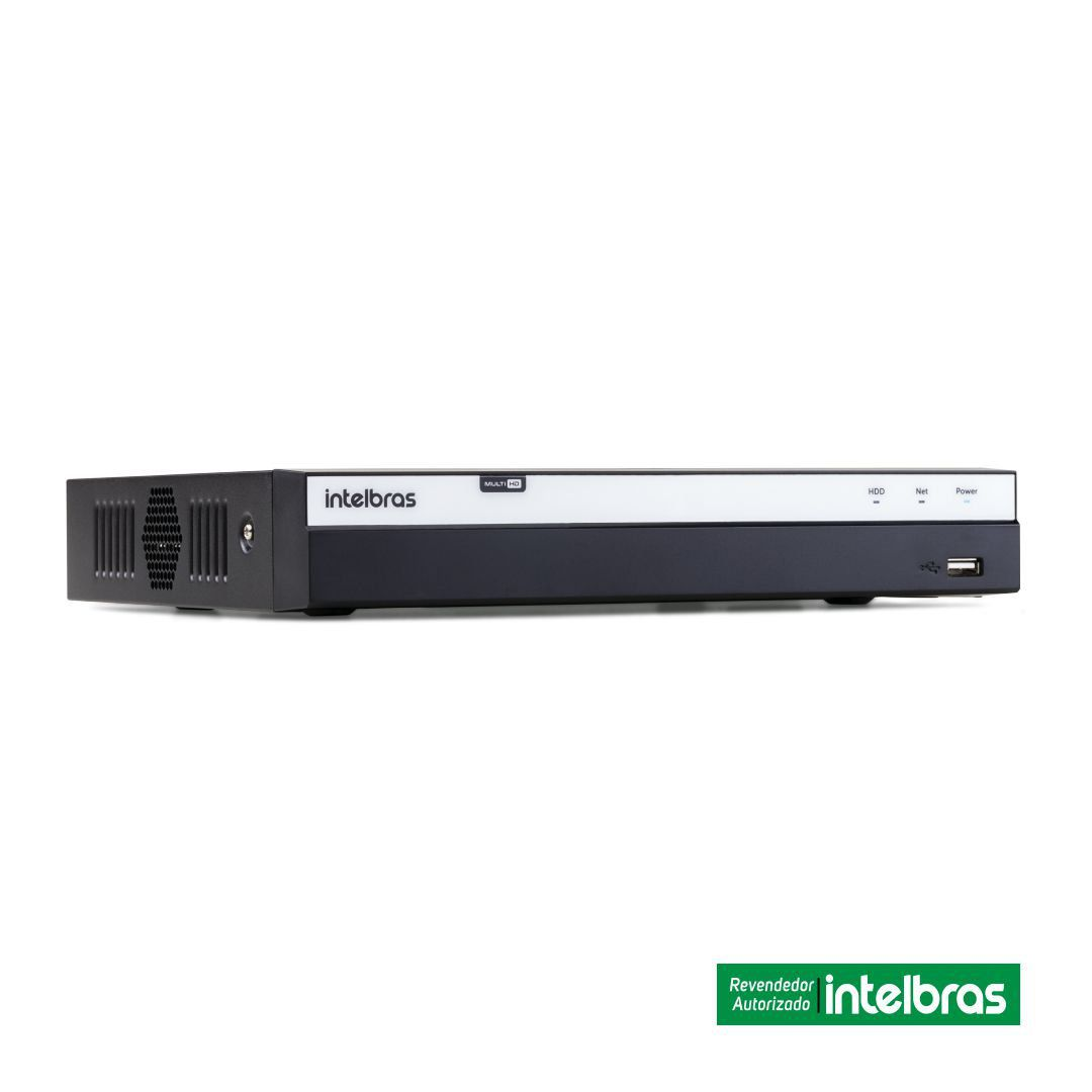 Dvr Stand Alone Multi HD Intelbras MHDX 3116 16 Canais + Hd 4 WD Tera Purple WD40PURX