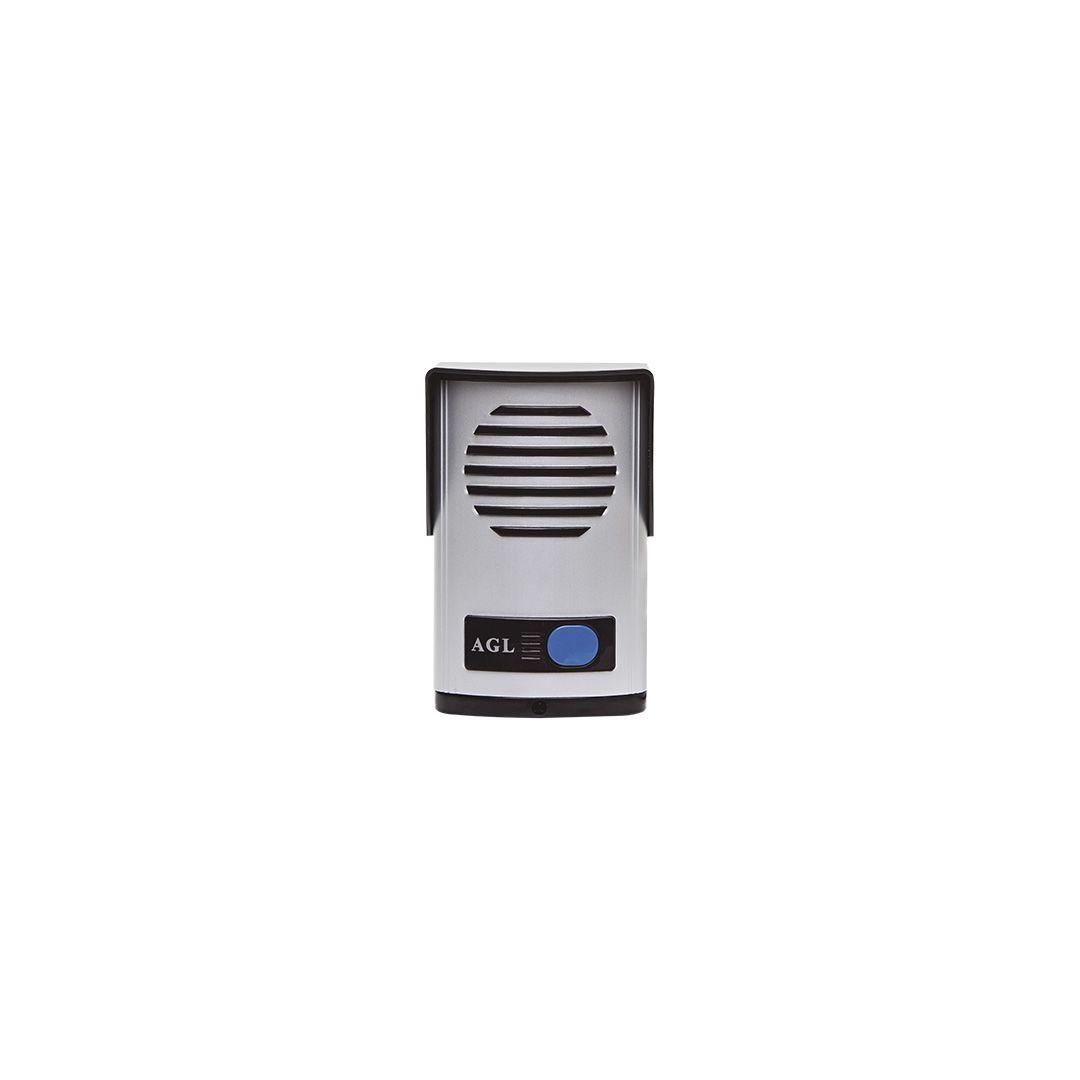 Kit Interfone Porteiro Eletrônico Agl P10S / 12v + Extensão