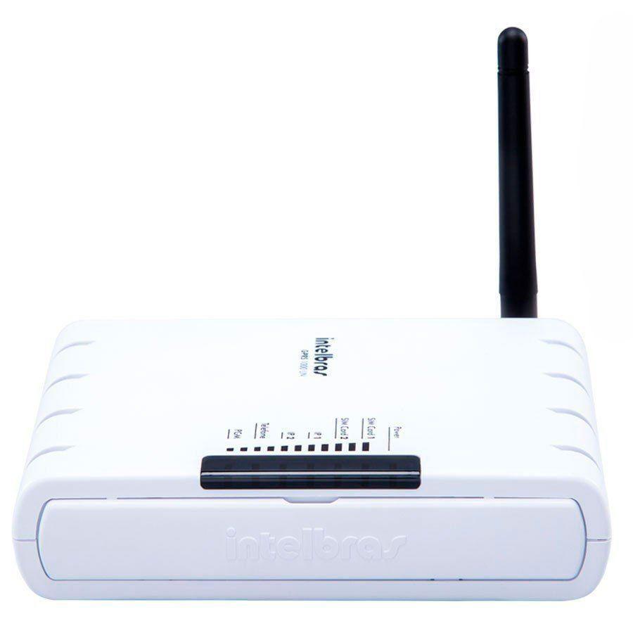 Módulo de Comunicação GPRS Universal Intelbras GPRS 1000 UN, Duplo SIM, 1 Saidas PGM