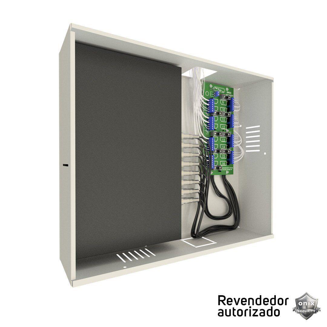 Rack Organizador para CFTV  Onix Security Mini Orion Hd 3000 8 Canais Híbridos