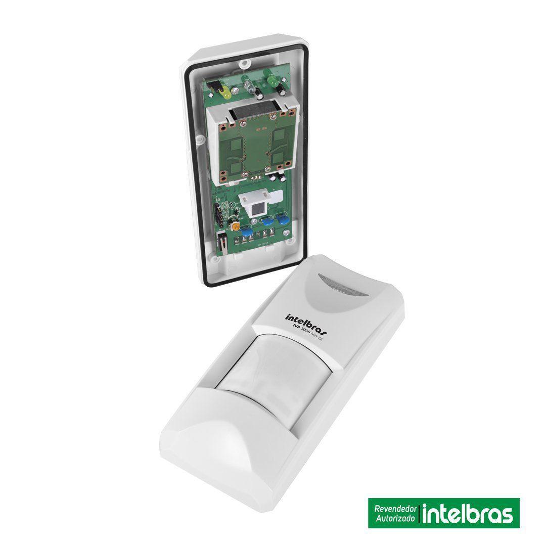 Sensor Infravermelho Intelbras Passivo Externo Ivp 3000 Mw Ex
