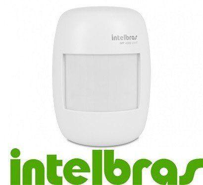 Sensor Infravermelho Intelbras Sem Fio Ivp 4000 Smart
