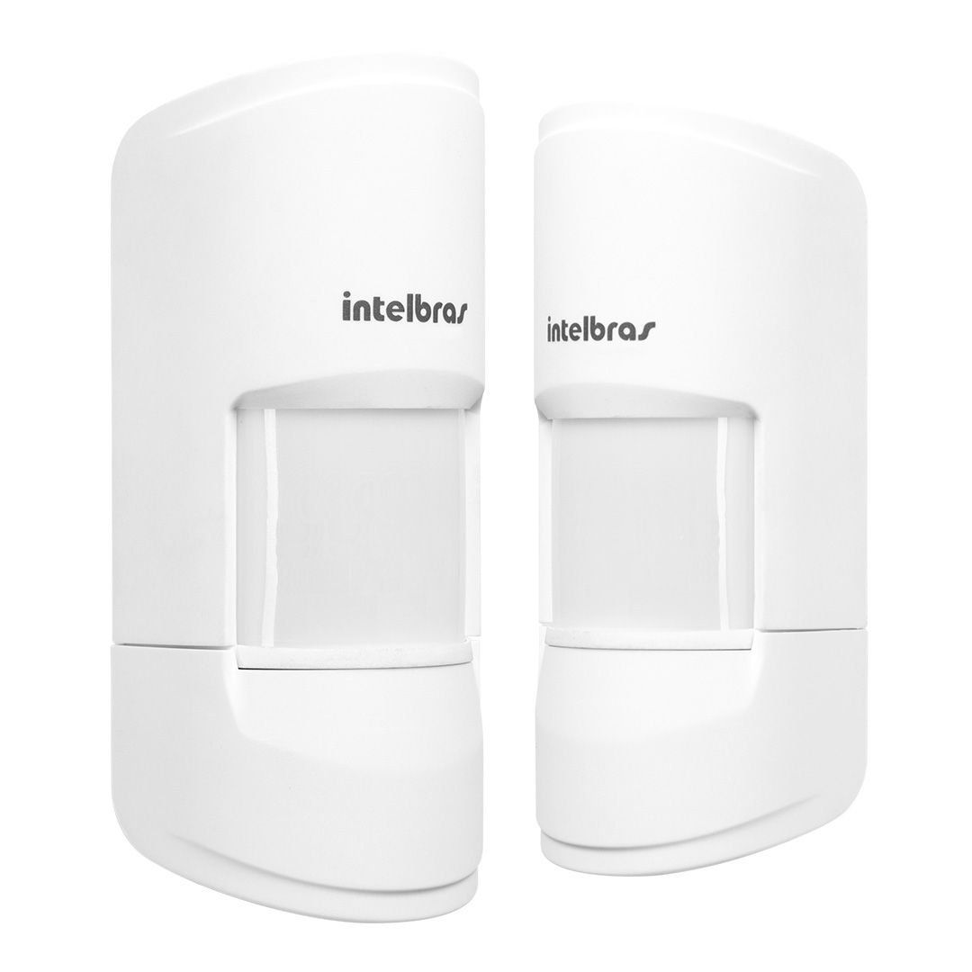Sensor Intelbras Infravermelho Sem Fio 20kg IVP 4101 Pet Smart