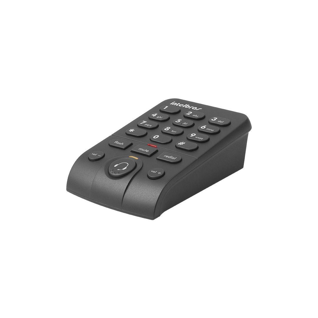 Telefone Headset Intelbras Hsb 50 Com Base Discadora