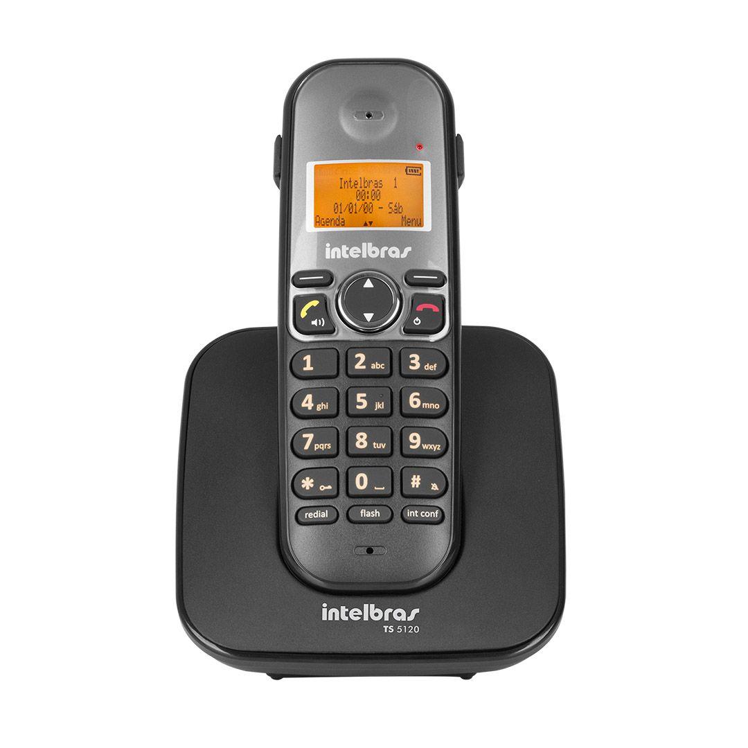 Telefone Sem Fio Intelbras Icon Ts 5120 Preto