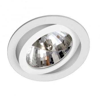 Luminária de Embutir Direcionável  Para Lâmpada AR111  1078D BF Bella Luce