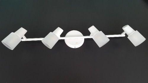 Luminária Trilho P/ Sala Cozinha Quarto Banheiro Sala 4 Luz