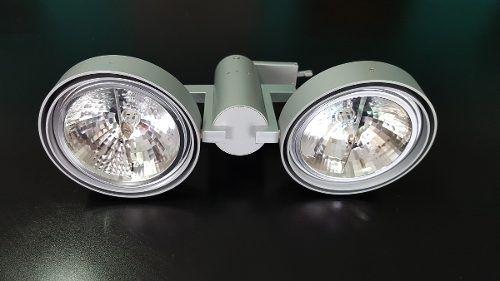 Luminária Plafon Pendente 2 Lâmpadas Ar111 Direcionável Llum