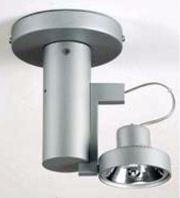 Luminária Plafons Pendente Lâmpada Ar70 1 Luz Direcionável